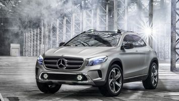 Photo free Mercedes, crossover, wheels