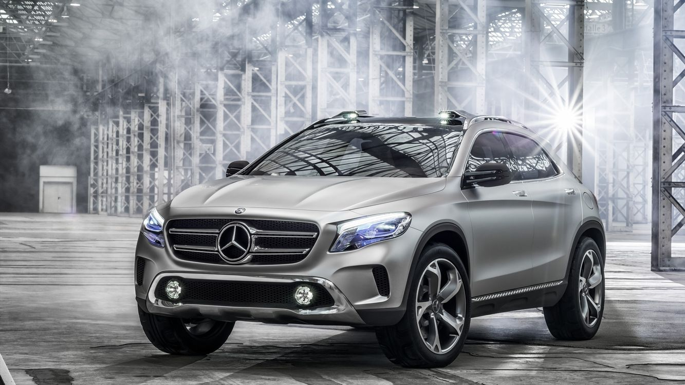 Photos for free Mercedes, crossover, wheels - to the desktop