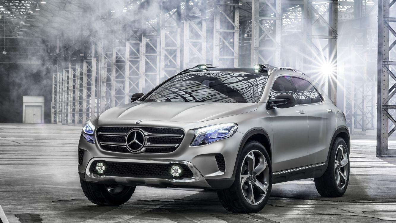 Free photo Mercedes, crossover, wheels - to desktop