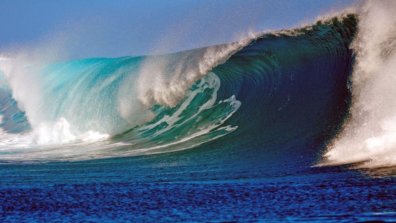 Фото бесплатно море, волна, шторм - на рабочий стол