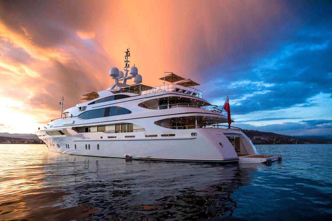 Фото бесплатно море, яхта, вечер - на рабочий стол