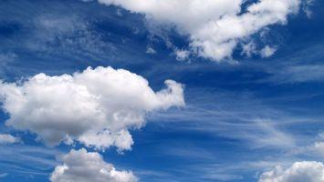Фото бесплатно небо, голубое, высоко