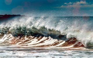 Фото бесплатно природа, море, волна