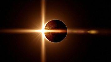 Фото бесплатно солнечное, затмение, луна