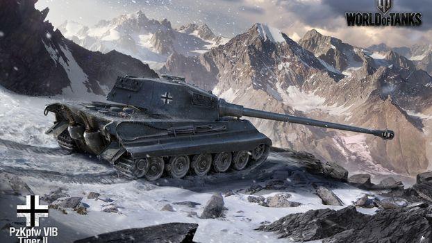 Фото бесплатно танк, королевский, тигр