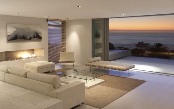 Фото бесплатно комната, море, океан