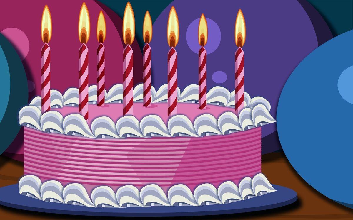 Фото бесплатно пирожное, сладкое, торт, десерт, еда, свечи, разное