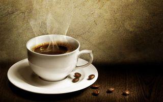 Фото бесплатно кофе, зёрна, чашка