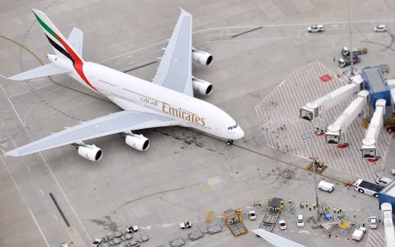 Фото бесплатно аэропорт, пассажирский, самолет