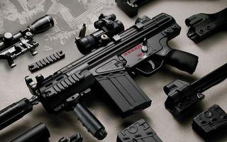 Бесплатные фото автомат,прицел,g3pip vw009,черный,магазин,глушитель,оружие