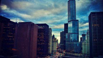 Бесплатные фото дома,небоскреб,стекло,окна,улица,небо,город