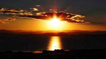 Фото бесплатно море, солнце, небо