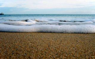 Обои пена, пляж, берег, набережная, камни, галька, море, океан, вода, отпуск, юг, природа