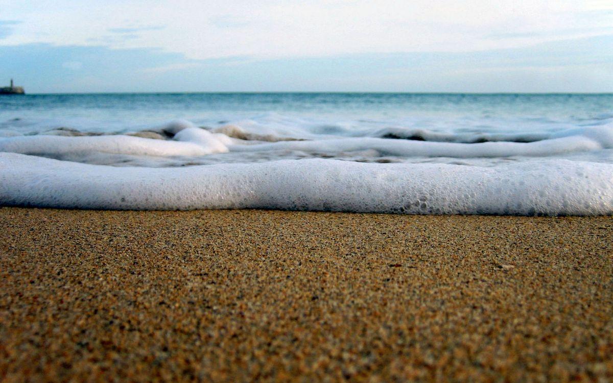 Фото бесплатно пена, пляж, берег - на рабочий стол