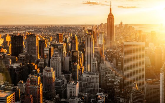 Заставки просыпайся, нью йорк, восход