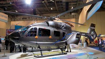 Бесплатные фото вертолет, новый, лопасти, серый, стекло, люди, авиация