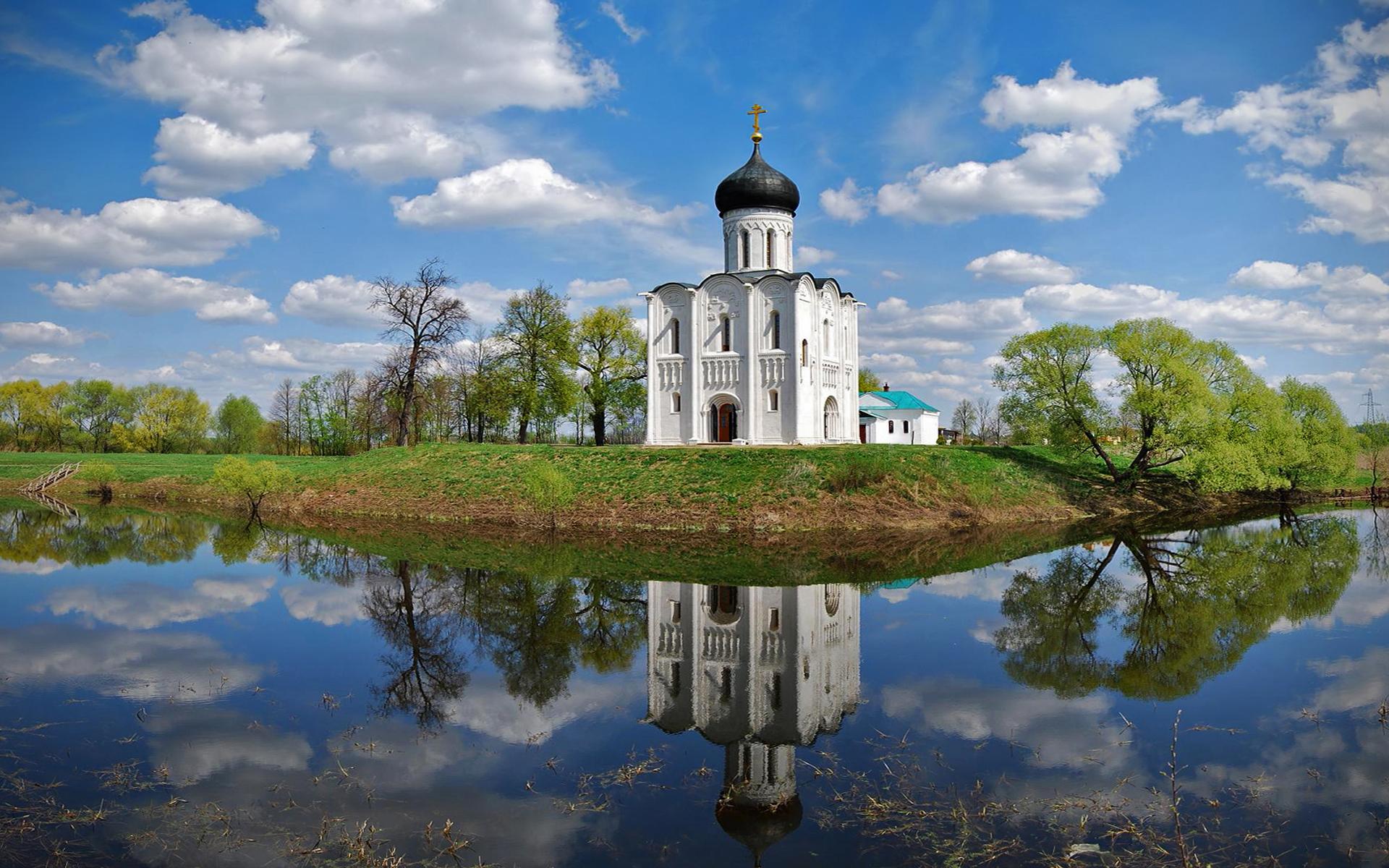 обои на рабочий стол православные храмы и монастыри лето № 217122 бесплатно