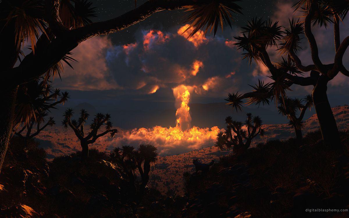 Фото бесплатно атомный, взрыв, вспышка, огонь, волна, гриб, оружие, оружие
