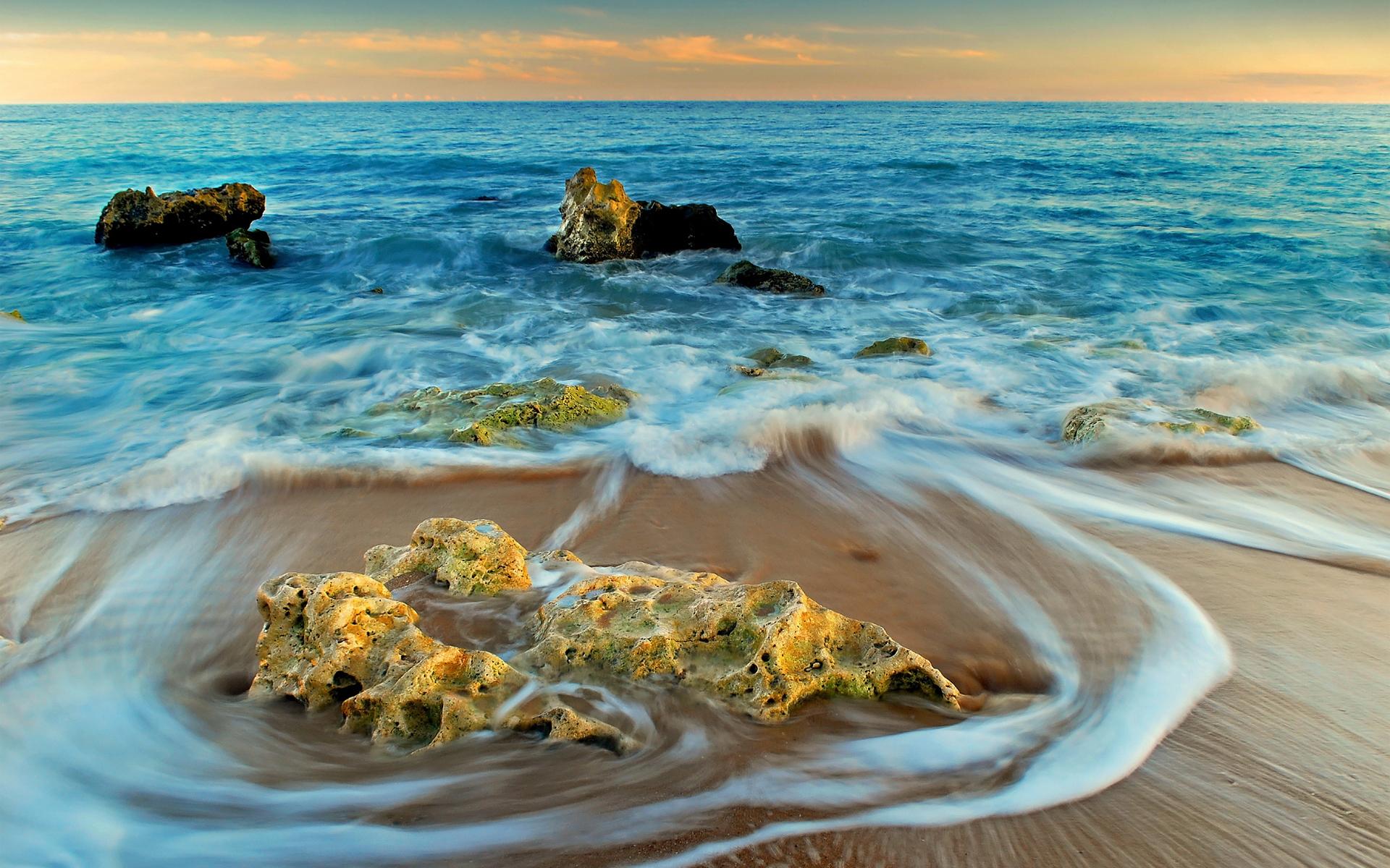 скалы берег песок  № 1185495 загрузить