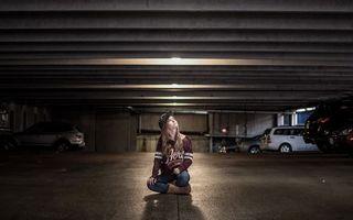 Фото бесплатно девушка, одежда, парковка