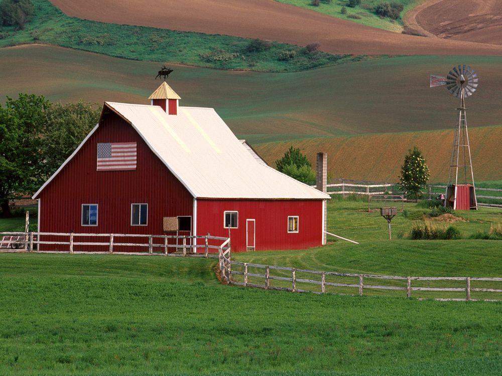 Фото бесплатно дом, красны, поле, трава, деревья, забор, город, город