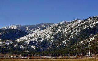 Photo free mountains, snow, rocks