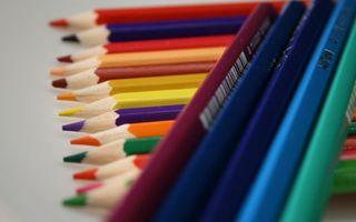 Фото бесплатно карандаши, цветные, разноцветные