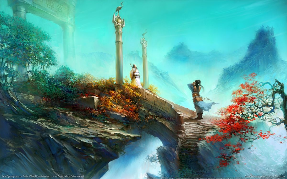 Фото бесплатно китай, император, скалы, горы, лестница, люди, деревья, листья, разное, разное