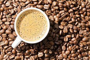 Photo free coffee, grains, foam