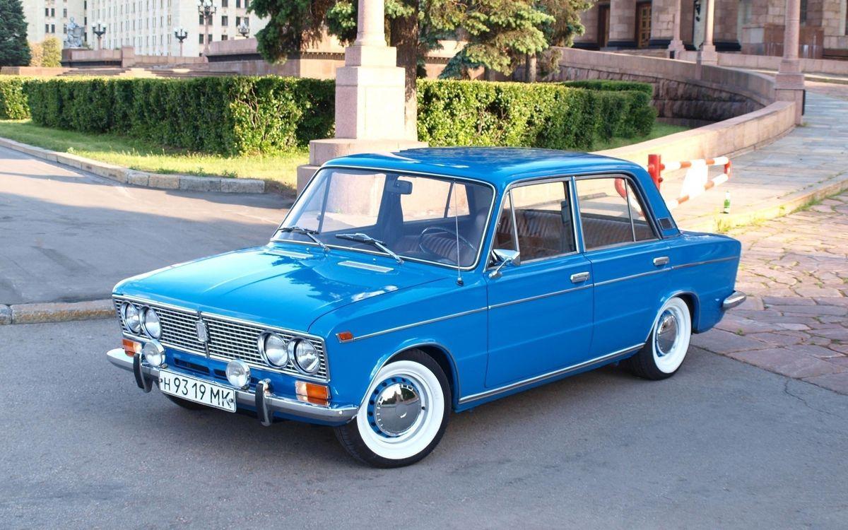 Фото бесплатно лада, тройка, ваз, голубая, классика, машины, машины