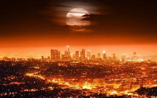 Заставки ночь, небо, луна