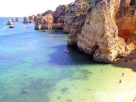Фото бесплатно пейзаж, море, скалы