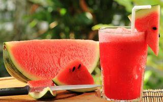 Фото бесплатно сок, арбузный, стакан