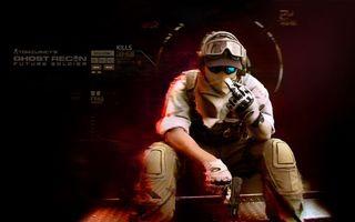 Бесплатные фото солдат,оружие,пистолет,очки,человек,агент,игры