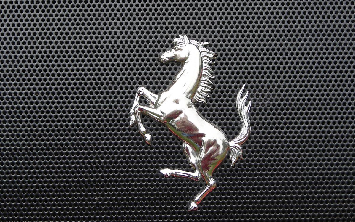 Фото бесплатно феррари, логотип, значек, жеребец, лошадь, конь, решетка радиатора, разное, разное