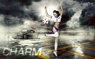 Фото бесплатно футбол, мяч, парковка