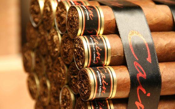 сигары, cain, табак, лента, черная