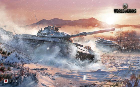 Photo free world of tanks, Japanese, medium
