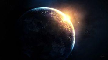 Бесплатные фото земля,луна,планета,спутник,туманность,звезды,космос
