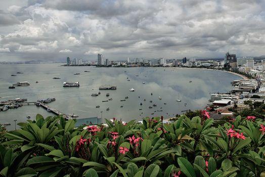 Photo free Pattaya Bay, Thailand, sea