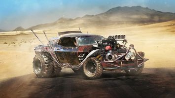 Фото бесплатно Chevrolet SS - Mad Max, двигатель, турбина