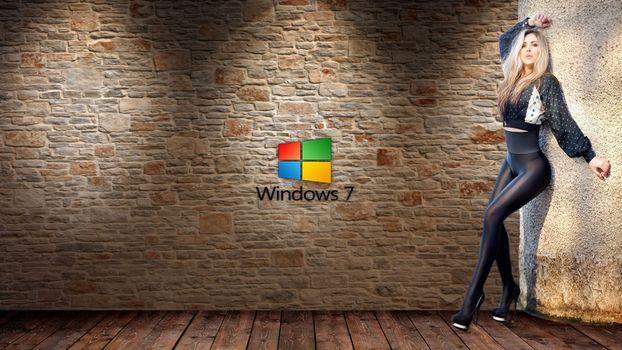 Бесплатные фото компьютер,windows,винда,leggings,sexy