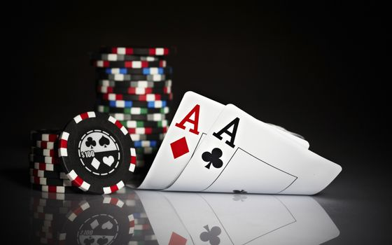 Photo free poker, cards, aces