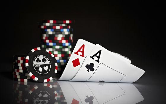 покер карты тузы