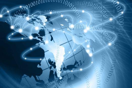 Сеть континентов фото · бесплатное фото