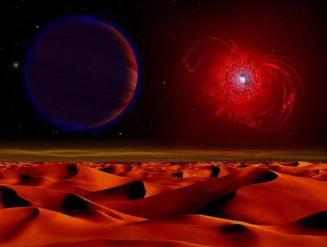 Заставка вселенная, планета на телефон