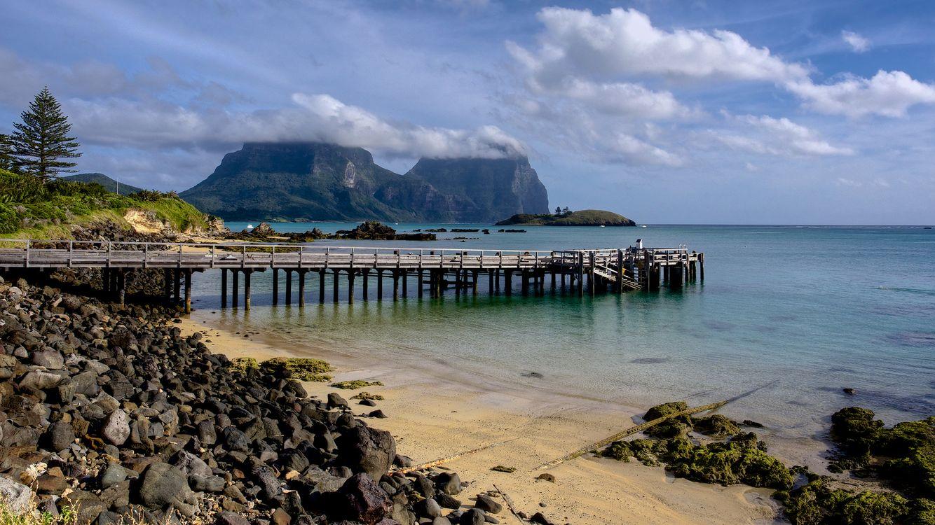Фото бесплатно Australia, Lord Howe Island, New South Wales, Tropical Island, Coral Reef, пейзажи