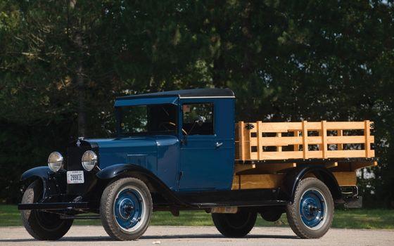 Фото бесплатно грузовик, классика, кузов