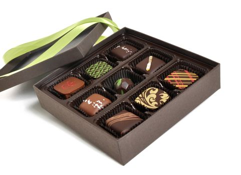 Photo free box, candy, chocolate