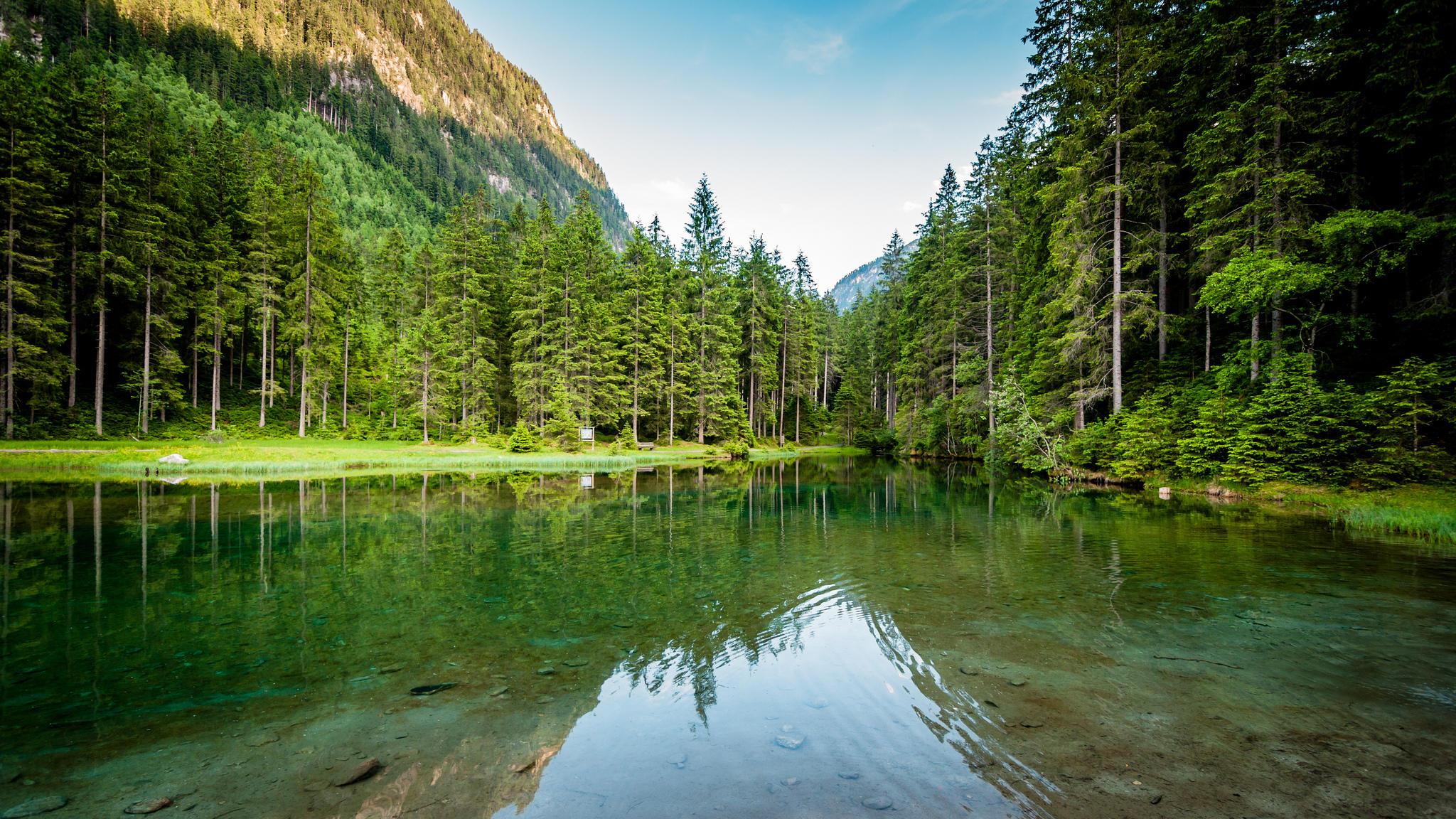 Blausee, Pinzgau, Austria